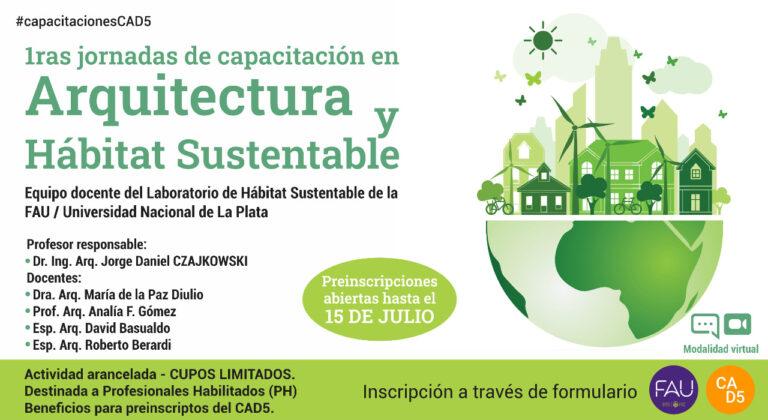 Arquitectura y Hábitat Sustentable